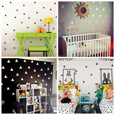 Triangle Wall Sticker Kids Nursery Stickers Wall Decals Home Decor 4 Colors #JY