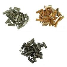 12Sets Necklace Lobster Clasp Clips End Crimp Extender Chain Findings DIY Craft