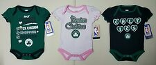 Boston Celtics NBA Girls Infant/Baby Pick Color 1pc Bodysuits/Onesies:0/3m-3/6m