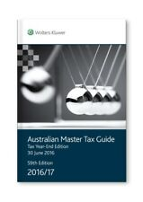 Australian Master Tax Guide 2016/2017 Tax Year End Edition by Michael Chow Paper