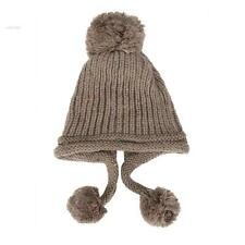 Autumn Winter Cap Women Warm Wool Knitted Fashion Women Cap Beanie Crochet Hat