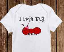 I love my Aunt Baby Onesie - Aunt onesies - Cute Baby Girl Clothes