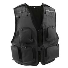 Outdoor Quick-Dry Fishing Vest Multi Pockets Fishing Hunting Waistcoat Jacket