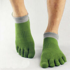 Novelty 1 pairs Stylish five finger toe socks mens socks pure cotton sports GTAU
