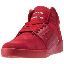 Supra Skytop Iii Mens Trainers Red New Shoes