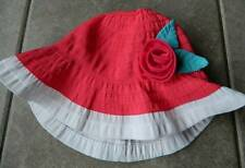 Size 2T,3T,2,3 years,Sunhat Gymboree,Swim shop,flower trimmed,NWT