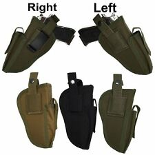 Molle Left Right Interchangeable Tactical Pistol Hand Gun Magazine Holster Pouch