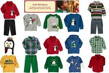 NWT Gymboree North Pole Express Mixed Pieces and Lots Multiple Sizes