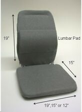 McCarty's Sacro-Ease DELUXE Car Seat Support and Back Rest Choose size and Color