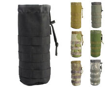 Hunting Airsoft Tactical MOLLE 1000D Water Bottle Pouch Bag with Mesh Bottom