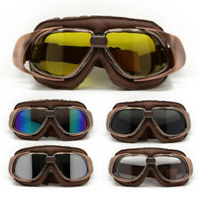 Retro Vintage Aviator Pilot Bikes Cruiser Motorcycle Windproof Scooter Goggles