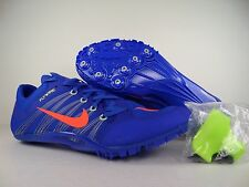 Mens Nike Zoom Ja Fly 2 Spikes Running Shoes sz 13 Racer Blue 705373-487