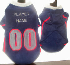 New England Patriots Polar Fleece Dog Coat
