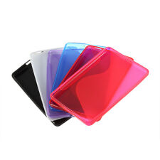 Rubber TPU Gel Silicone Skin Cover Case For Amazon Kindle Fire QK