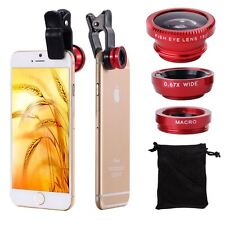 3 IN 1 CAMERA LENS KIT WIDE ANGLE MICRO FISH EYE LENS FOR IPHONE 4 5 5S 6 6 PLUS