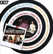 James Bond in Action/themes for Secre - Roland & His O. Shaw New & Sealed Compac