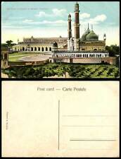 India Old Colour Postcard The Great Emambara and MOSQUE Lucknow (British Indian)
