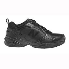 New Balance Mens Running & Working MX626BK Leather Slip Resistant Shoes