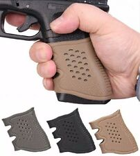 Tactical Rubber Grip Anti Slip Glove For Pistol Glock 17 19 20 21 22 23 31 32