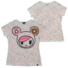 Tokidoki Women Original (Donutella Pop Sprinkles Sublimation Drawing)T-shirt