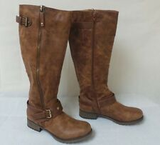 New! Bongo Womens Dixie Riding Boot-Style 20396-Brown    191M  kl