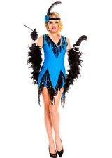 Flapper Feaver Roaring 20's Women's Sexy Adult Halloween Costume