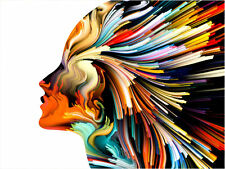 Oil Painting HD Print art on Canvas Modern Home Deco Color abstract body art 156