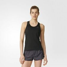 NEW ADIDAS WOMENS SUPERNOVA TANK  BLACK
