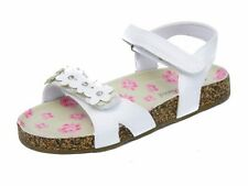 Toddlers Girls White Sandals Beach Summer UK Kids Shoes Size 6 7 8 9 10 11