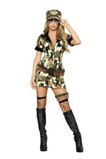 Militia Babe Army Cadet Military Women's Halloween Adult Costume