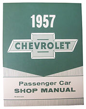 1957 CHEVY PASSENGER CAR FACTORY ASSEMBLY MANUAL- SM1957C