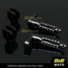 FOR Yamaha FZR 1000 1987-1996 Multi Step Adjustable Front Foot Pegs