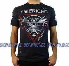 AMERICAN FIGHTER Bay State Artisan FM2704 Men`s New Black T-shirt By Affliction
