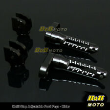 FOR Honda CBR600 F2/F3 1993-1997 Multi Step Adjustable Front Foot Pegs