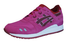 Asics Gel Lyte III Womens Running Trainers / Shoes - Pink - H483N