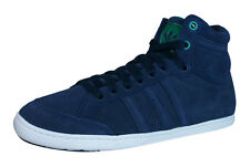 adidas Originals Plimcana Mid Mens Suede Trainers / Shoes - Blue - D65951