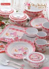 New Melamine Sanrio MyMelody Kitchen Serving Dishes Bowl Plate Spoon Dinnerware