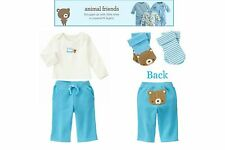 NWT Gymboree Bike Explorer Hoodie & Stylish Puppy Knit Pants 2pc Set  Sz 6-12 m