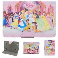 "Disney Princess PU Leather Cover case For Universal 7""-7.9"" 9.7""-10.1"" Tablet PC"