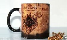HARRY POTTER MARAUDERS MAP Magic Color changing Coffee Mug gift Delivery from US