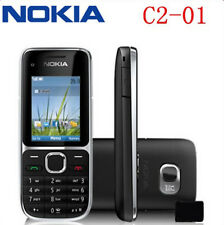 Original Nokia C Series C2-01 - Black (Unlocked) Cellular Phone