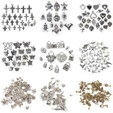 Antique Silver/Gold Tibetan Charms Pendants Vintage Steampunk Jewelry DIY Crafts