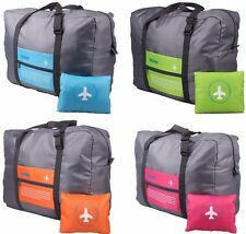 Foldable Travel Bag Luggage Hand Shoulder Storage WaterProof Carry-On Duffle Bag