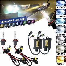 55W HID Xenon Headlight Bulbs Conversion KIT Car  H1 H3 H4 H7 H8/H9/H11 H4-3 880