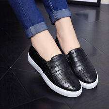 New Fashion Autumn Casual Flats Shoes Women Round Toe Ladies Slip On Shoes HF