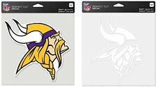 NFL Minnesota Vikings Wincraft Color or Clear Perfect Cut Decal NEW!