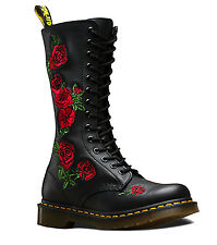 Dr Martens Vonda Black Women Knee high  Boots