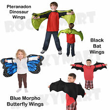 Childrens WINGS Plush Costume Bat, Dinosaur, or Butterfly RM4068