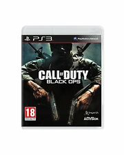 CALL OF DUTY BLACK OPS PS3 PLAYSTATION 3 IN PLAIN CASE