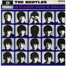 BEATLES A Hard Day's Night LP 13 Track Black/silver Label Stereo Early 80's